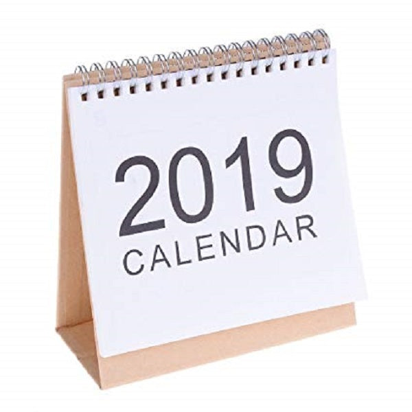 2019-12 Month Easel Stand Calendar