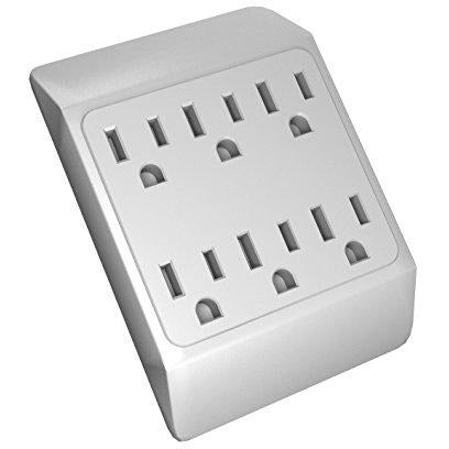 6 Grounded Outlets