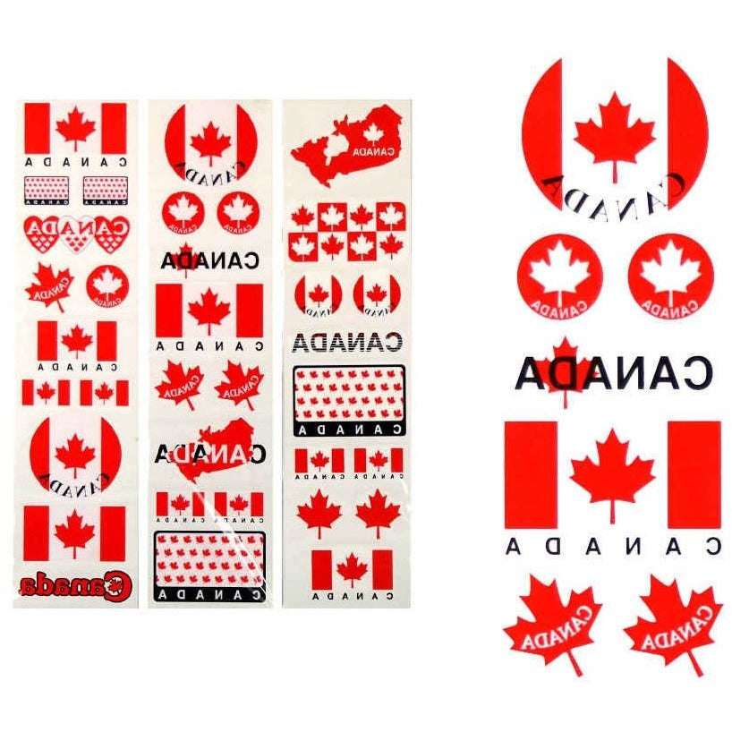 Canada Flag Tattoos