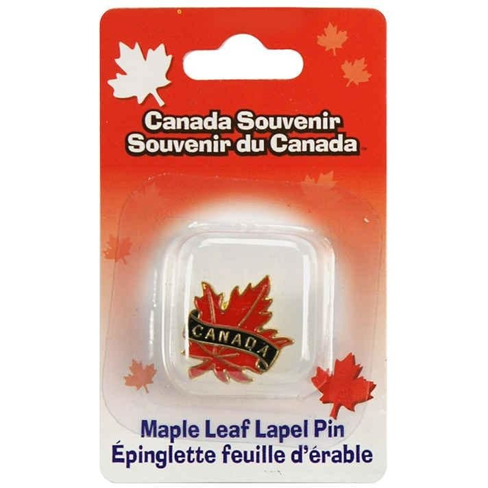 Maple Leaf Lapel Pin