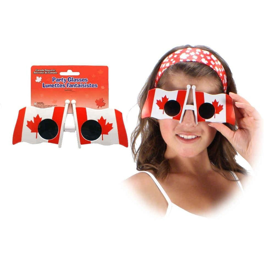 Canada Flag Party Glasses