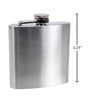 6oz Stainless Hip Steel Flask