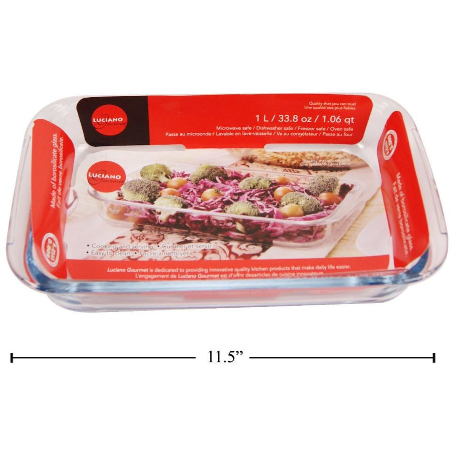 Glass Bakeware, 1.6L Rectangle