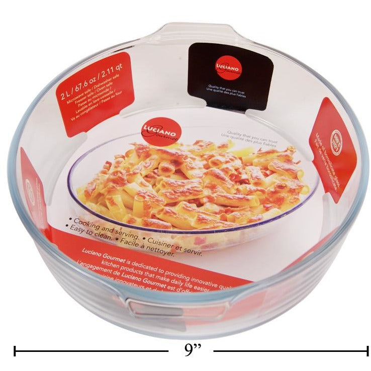 Glass Bakeware, 2L Round