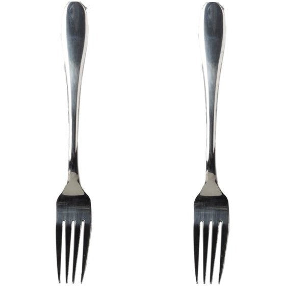"2-pc 8"" Deluxe Heavy Duty Stainless Steel Spoon"