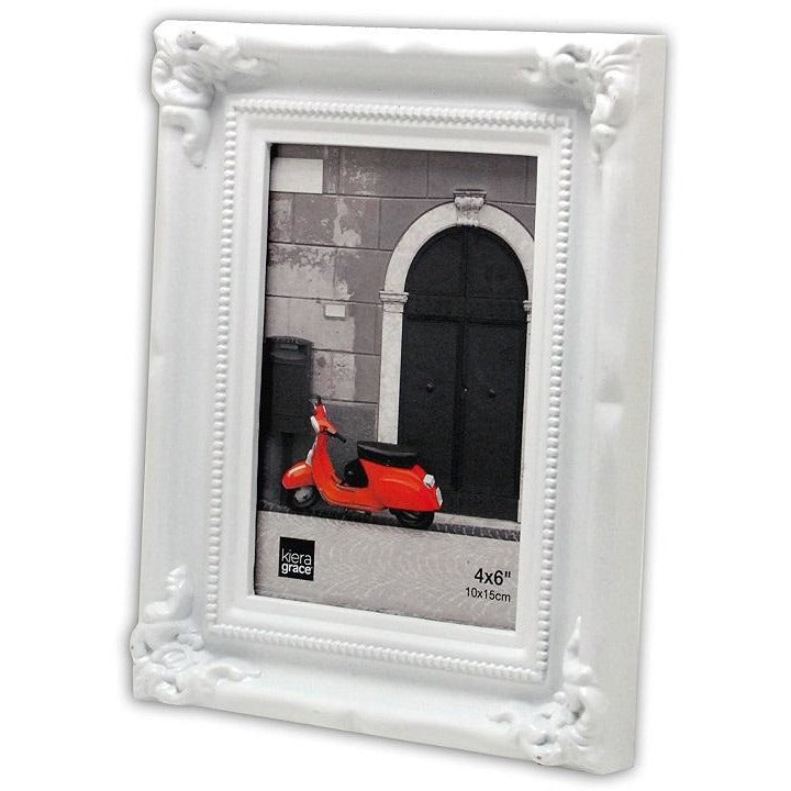 "Picture Frame, 4""x 6"", White"