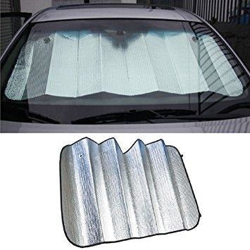 Reflective Auto Sun Shade with Suction Cups