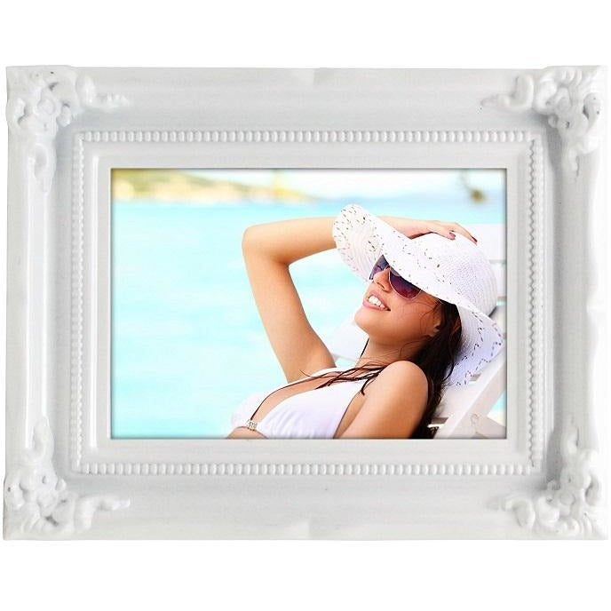 "Picture Frame, 5""x 7"", White"