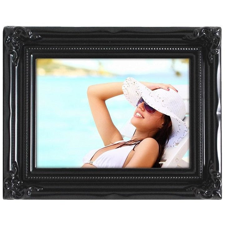 "Picture Frame, 4""x 6"", Black"