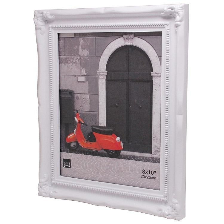 "Picture Frame, 8""x 10"", White"