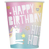 9oz Unicorn Paper Cups 8/pk