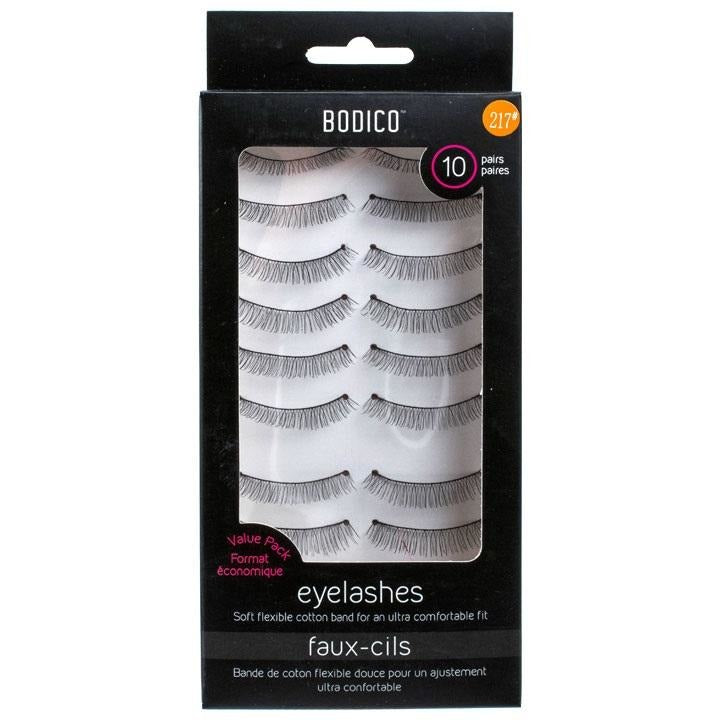 Eyelash with Super Soft Flexible Cotton Band, 10 pairs