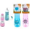 Baby Bottles with Cover and Silicone Nipple