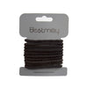 Ponyholders Black Twisted, 10/pk
