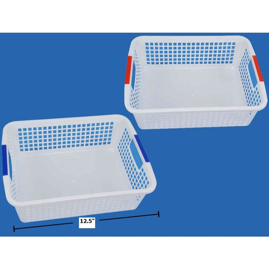 Plastic Basket with Handles