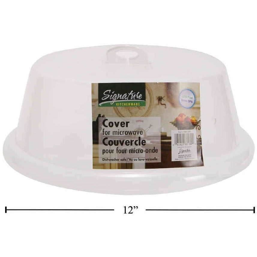 "Microwave Food Cover, 12""Dia"