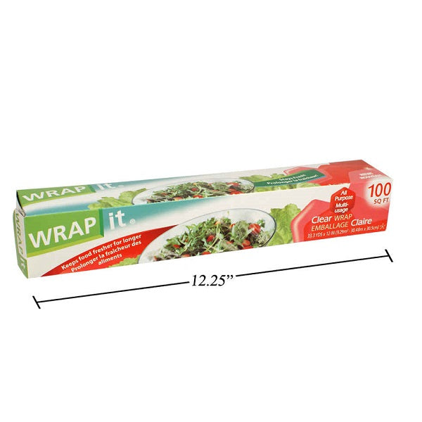 Plastic Wrap with Cutter