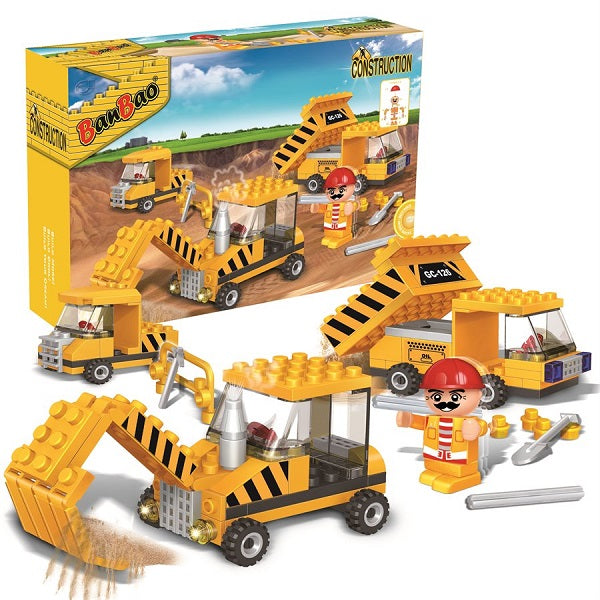 132PC Trendy City Construction Promotion Set