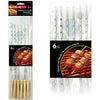 BBQ Skewers with Wooden Handles, 6/pk