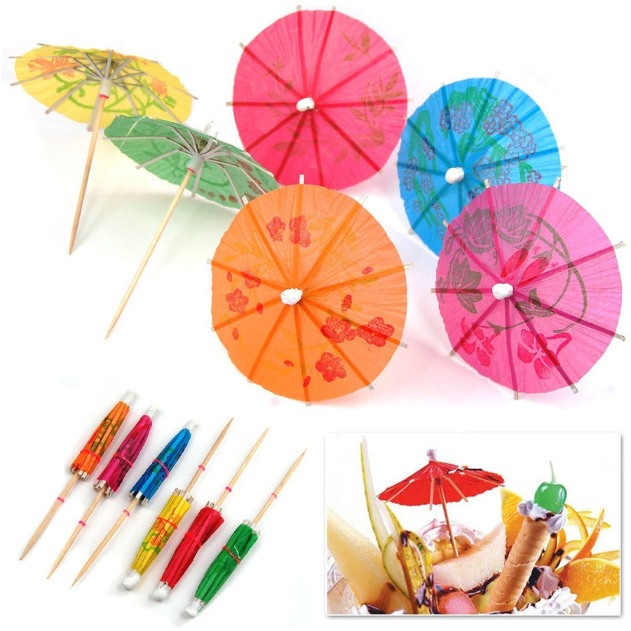 Umbrella Party Pick, 12/pk