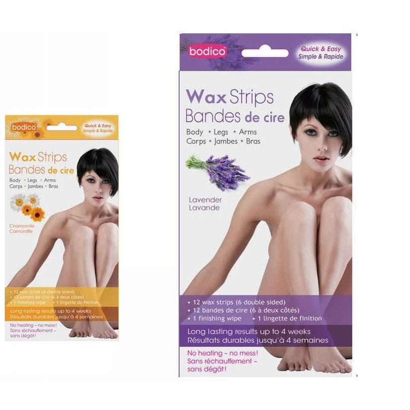 12-pc Scented Double Body Wax Strips