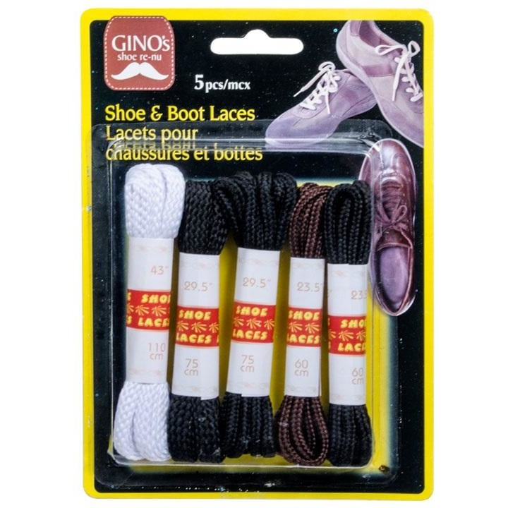 5-piece Shoe & Boot Laces