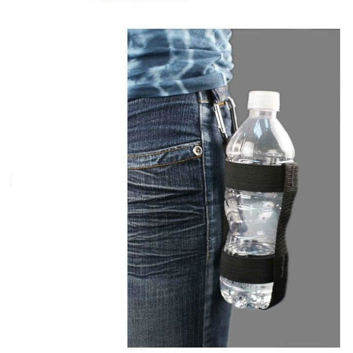Bottle Holder with Carabiner