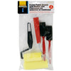 4-pc Foam Paint Brush & Roller Set