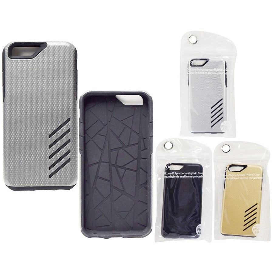 iPhone 6 Plus Silicone-Poly Carbonate Hybrid Case
