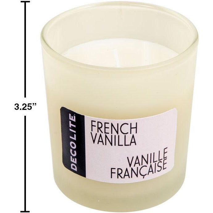 Scented Jar Candles - French Vanilla , 4.5oz