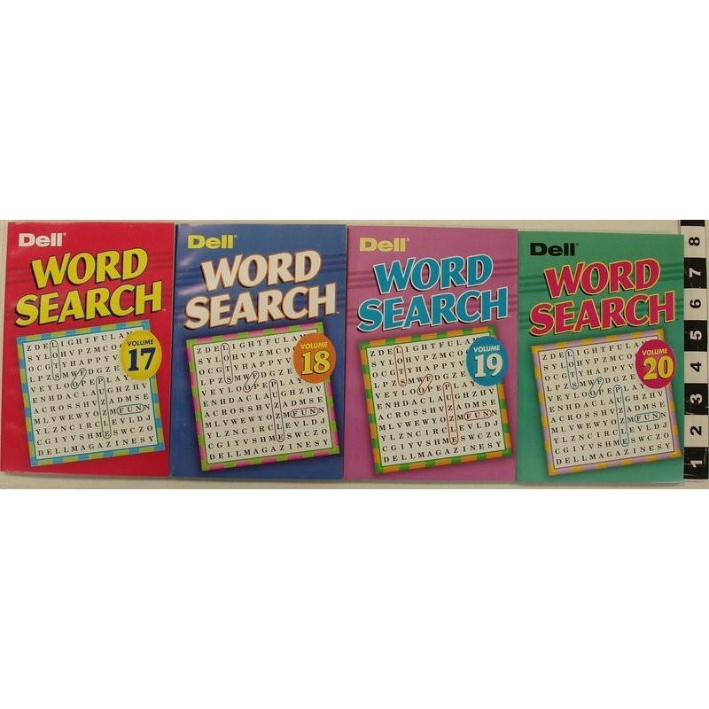 Word Search Digest - 4 Assorted