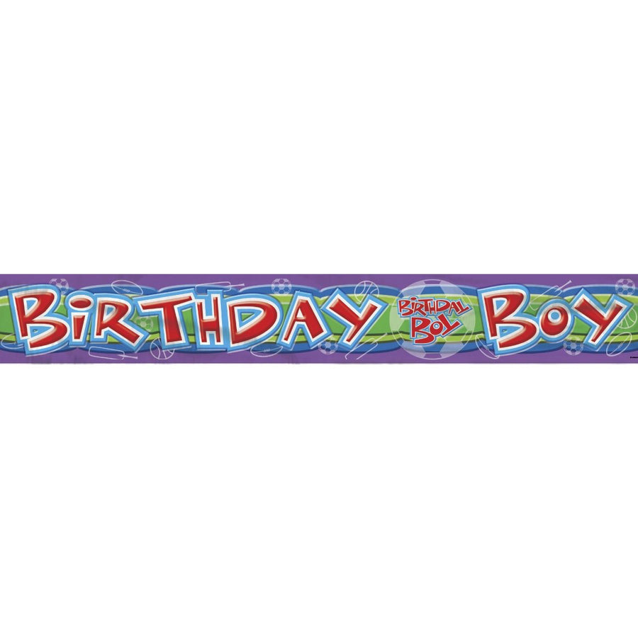 """Birthday Boy"" Banner"