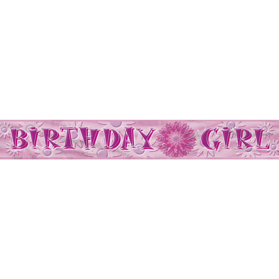 """Birthday Girl"" Banner"