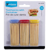 Toothpicks with Containers