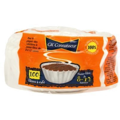 Basket Coffee Filters, 100/pk