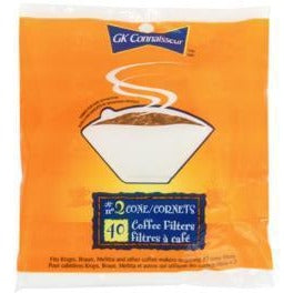 #4 Cone Coffee Filters, 40/pk
