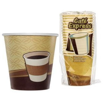 Value Pack 10oz Paper Cups, 15/pk