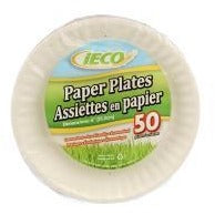 "Value Pack 6"" Paper Plates, 50/pk"