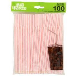 Value Pack Straws with Flexible Neck, 100/pk