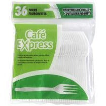 Value Pack Plastic Forks, 36/pk