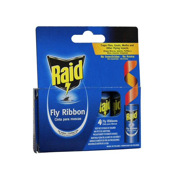 Raid 4pk Fly Ribbons