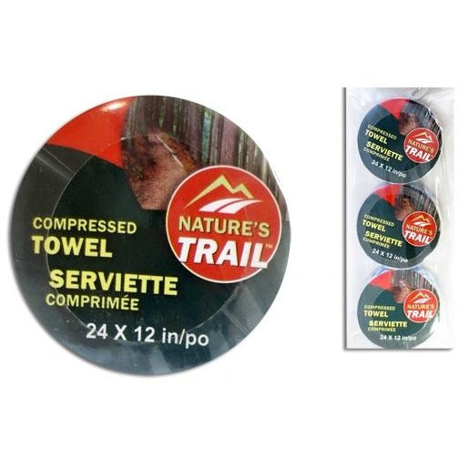 Compressed Towels, 3/pk
