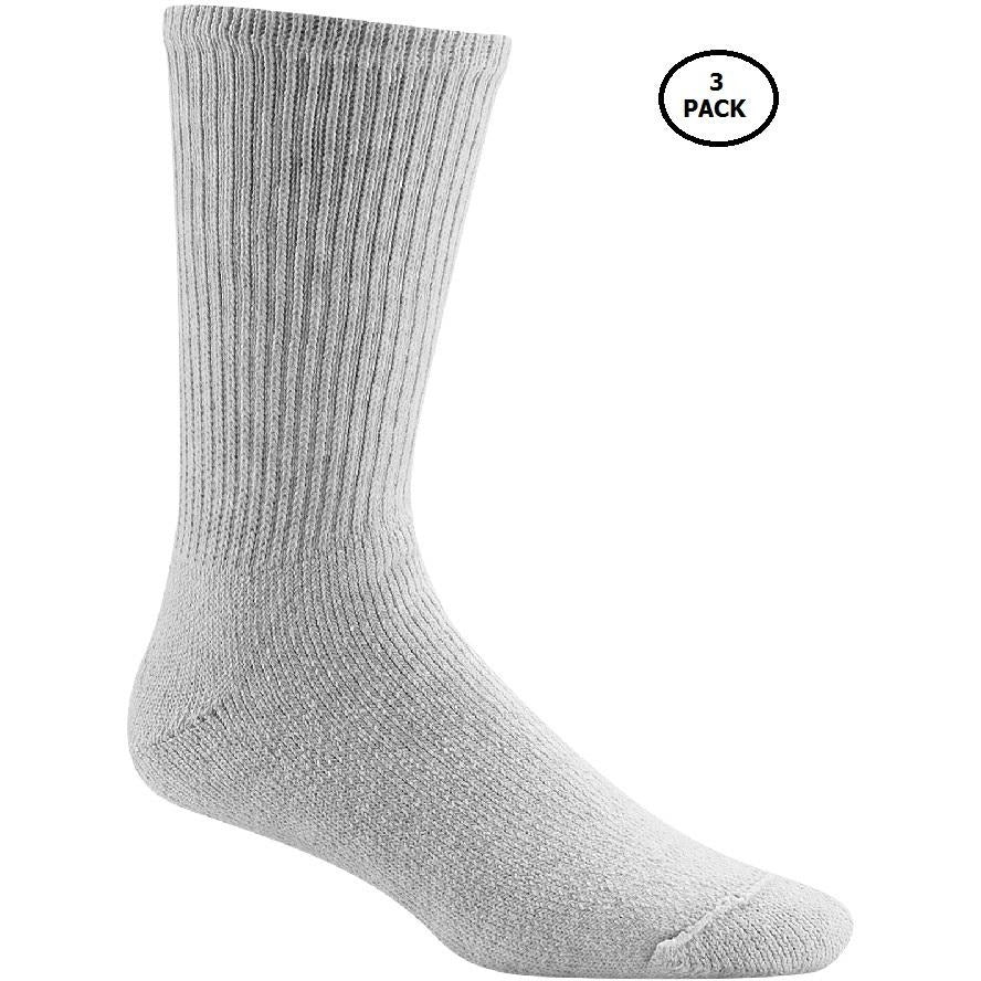 3Pk Boy's 8-10 Sports Socks, Grey