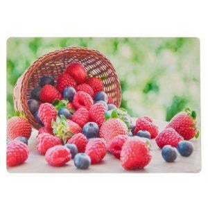Non-Slip Silicone Placemat - Basket of Berries