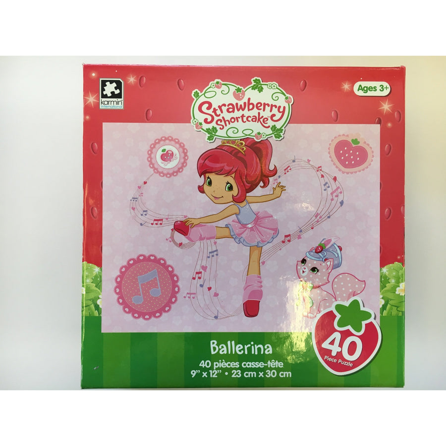 Jigsaw Puzzle 100 Pieces - Strawberry Short Cake Ballerina