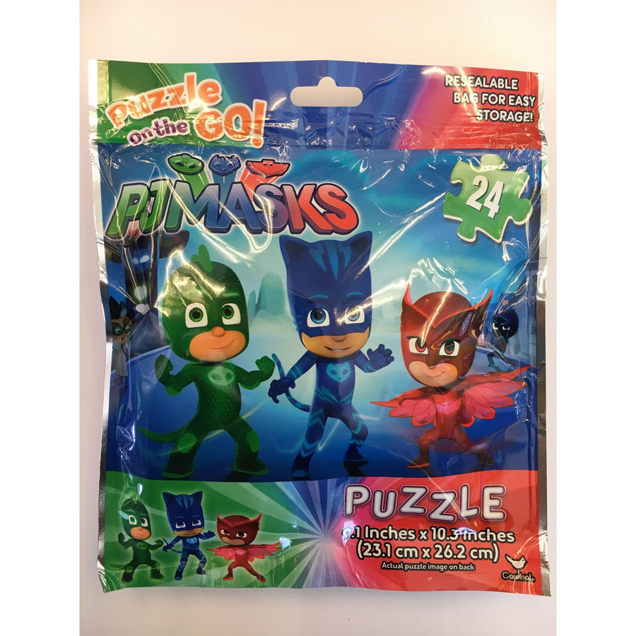Jigsaw Puzzle 24 Pieces - PJ Masks