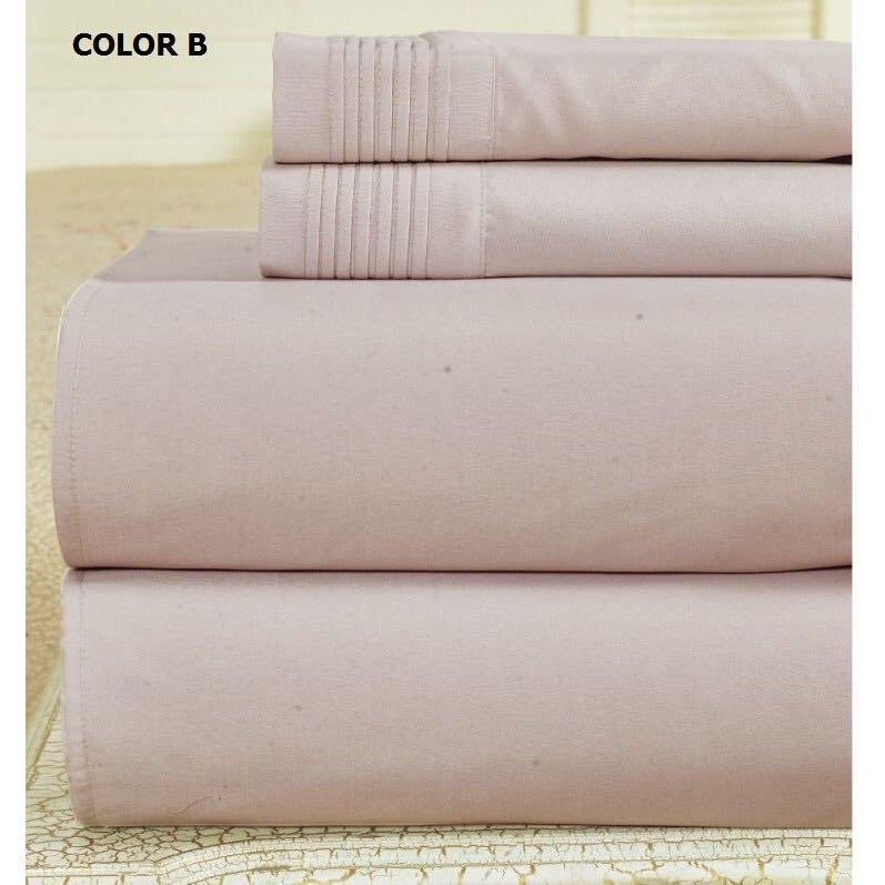 Bamboo Comfort Plus Sheet Set 1800 Series - 4Pc - Queen