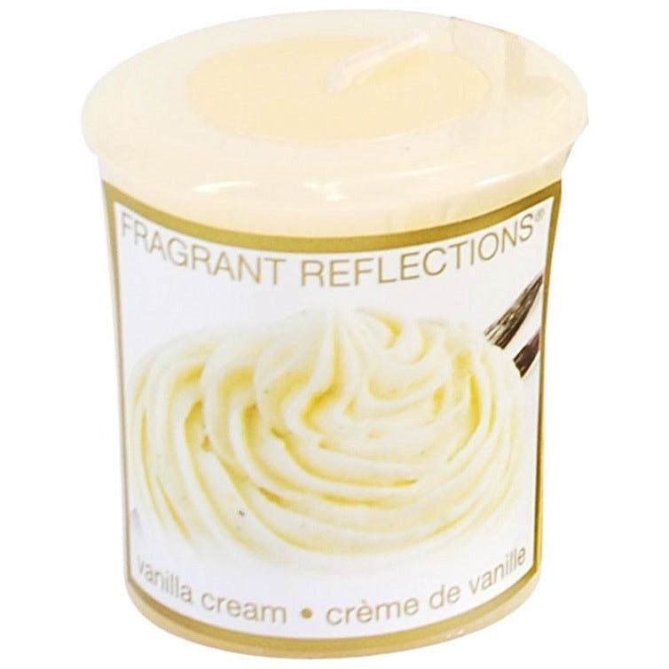 Votive Candle - Vanilla Cream