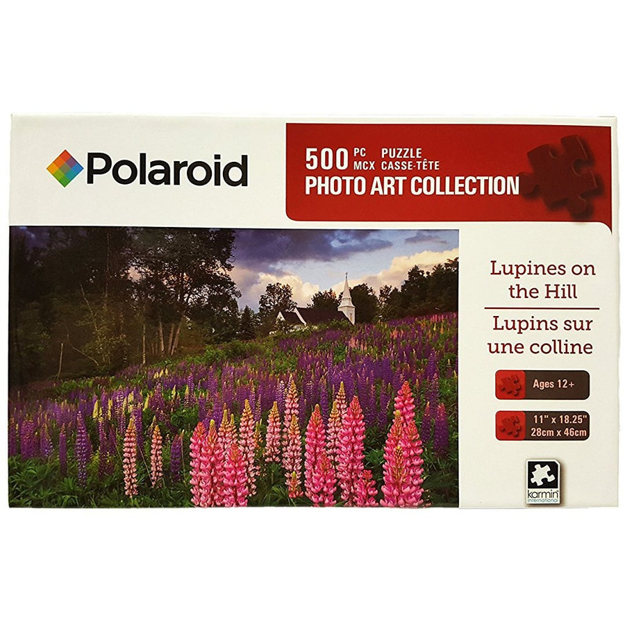 Jigsaw Puzzle 500 Pieces - Lupines on the Hills