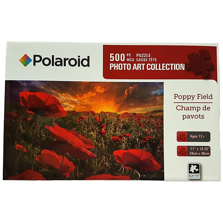 Jigsaw Puzzle 500 Pieces - Poppy Field